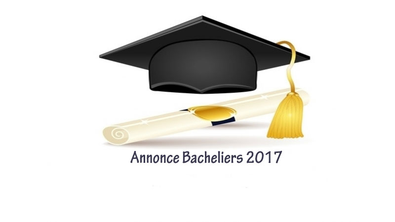 annonce Bac2017